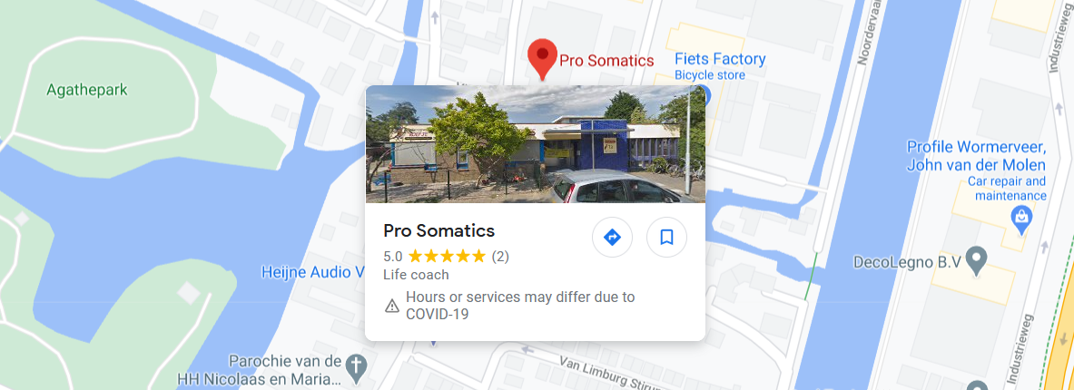 Google Maps Prosomatics